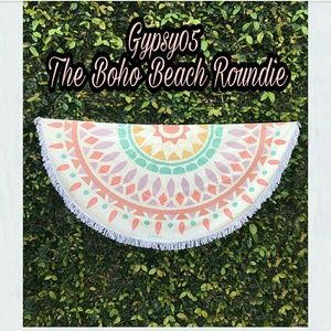 Gypsy 05 Accessories - GYPSY 05 The Boho Beach Roundie NWT