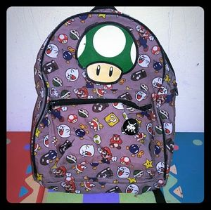 Nintendo Other - RARE!! Super Mario Villains Backpack w/ Toad