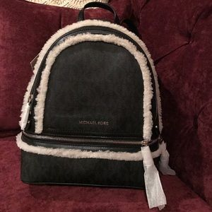 MICHAEL Michael Kors Signature Rhea M Backpack