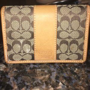 Mini COACH wallet
