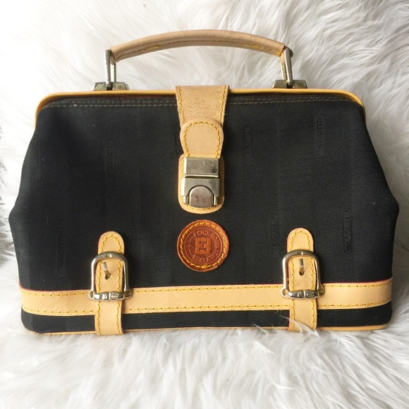 Fendi Handbags - Fendi Vintage Doctor s Bag