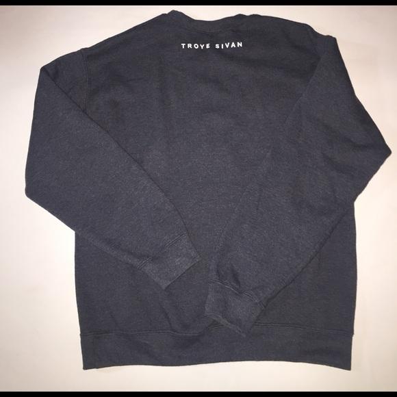 78% off Sweaters - Troye Sivan Blue Neighbourhood sweatshirt ...