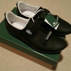 Lacoste Shoes - Women's Lacoste Arin Sneaker, Black, Size 10