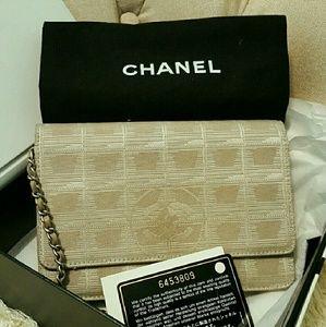 "CHANEL Handbags - CHANEL ""BEIGE CROSSBODY"" NOVA STYLE"