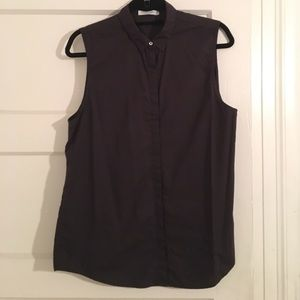 Everlane Tops - Everlane cotton poplin sleeveless blouse