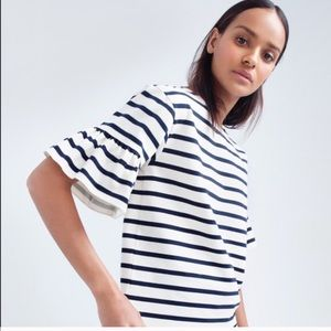 J. Crew Tops - Selling the cream with blue stripes In pic one.