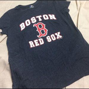 5th & Ocean Tops - SALE 5th & Ocean Boston Red Sox Graphic Tee