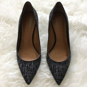 Banana Republic Shoes - || Banana Republic || Kinsley Tweed Black & White