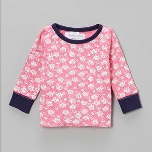 Sweet Peanut Other - Sweet Peanut Vancouver Pink Navy Kerchief Shirt