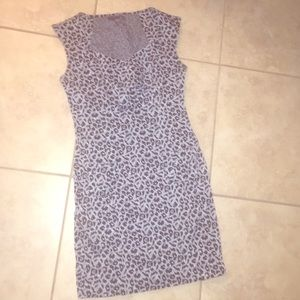 Forever 21 leopard dress with pockets