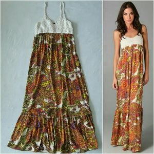 Torn by Ronny Kobo Dresses & Skirts - Torn by Ronny Kobo Robin Paisley Maxi Dress L