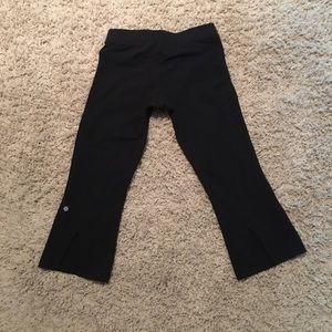 lululemon athletica Pants - LuluLemon Black Capris