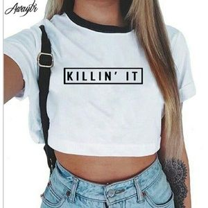 Tops - Killin It Crop Top 😎☉
