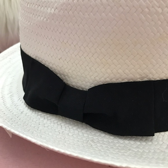 Claire's Accessories - White fedora