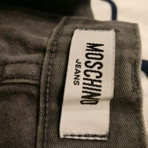 Moschino Jeans with peace sign accent