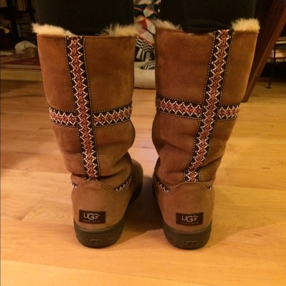 60 Off Ugg Shoes Ugg Ultimate Tall Chestnut Braid Boots