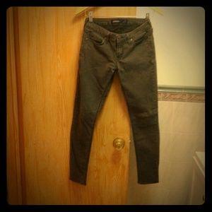 Just USA Denim - Gray Skinny Jeans (7)
