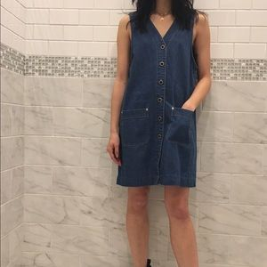 Free People Dresses & Skirts - Vintage Denim Shift Dress
