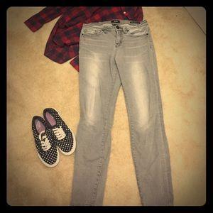 BDG High Rise Cigarette Ankle jeans