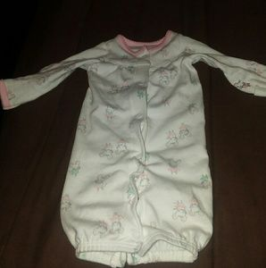 Baby Girl 2 in 1 Night Gown