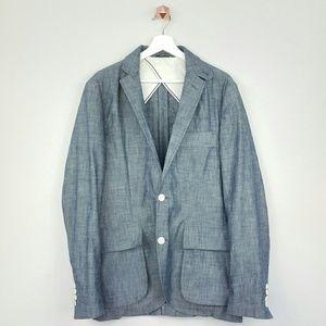 Billy Reid Other - BILLY REID chambray cotton blazers
