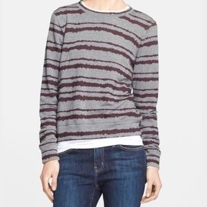 A.L.C. Sweaters - A.L.C Striped Crewneck Sweater