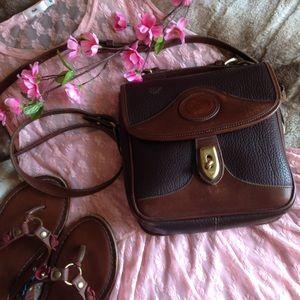 Dooney & Bourke Handbags - Vintage Dooney & Bourke Square Carrier Bag