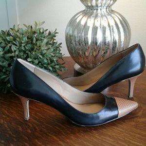 Ann Taylor Shoes - Ann Taylor Eryn Cap Toe Heels