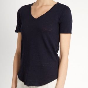 ATM Anthony Thomas Melillo Tops - ATM Slub V neck Tee