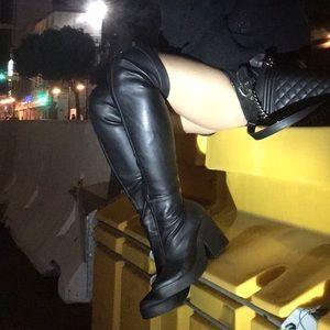 Miista Shoes - MIISTA Emi Leather Thigh High Boots