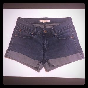 2.1 Denim Pants - 2.1 DENIM Cuffed Jean Shorts