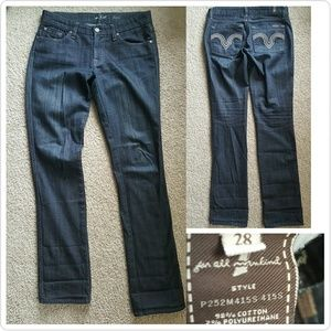 7 For All Mankind Denim - 7 For All ManKind Kate Jeans 28X33