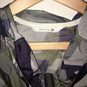 Theory Jackets & Coats - Theory 38 lightweight running jacket w hood