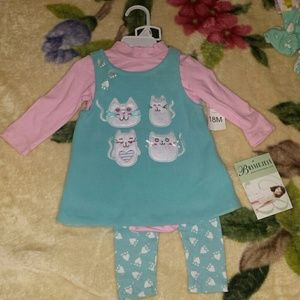Bonnie Baby Other - Baby girl 18 month outfit