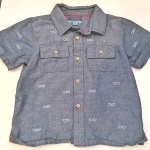Andy & Evan Other - Andy & Evan Trendy button up shirt • size 5