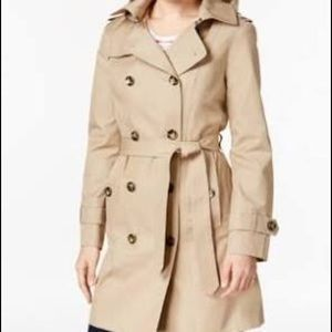 London Fog Jackets & Blazers - London Fog Double-Breasted Trench Coat