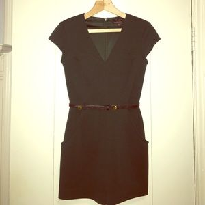 Ted Baker elegant play suit shorts w/ leather belt