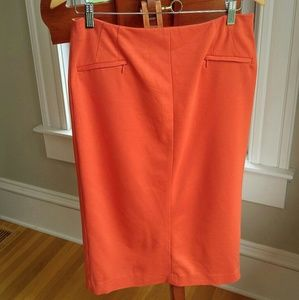 Halogen Dresses & Skirts - Halogen Size 10 Orange Pencil Skirt Zipper Pocket