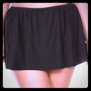 NuBella Other - Sexy Black Swim Flounce Skirt Bottom (Plus)