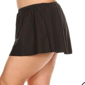 NuBella Swim - 🎈SALE 1 LEFT Sexy Black Swim Flounce Skirt [SW-6]