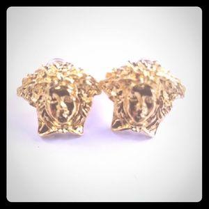 Versace Jewelry - Medusa head earrings