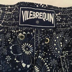 Vilebrequin Other - VILEBREQUIN 🌊swim trunks navy & white LIKE NEW!