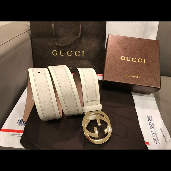 d9d858935db 67% off Gucci Other - 🔥 Authentic Men Gucci Belt White .