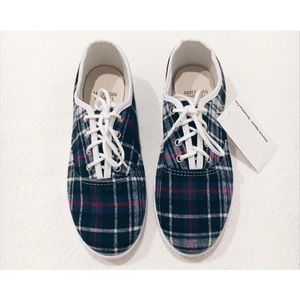 AA Edward Flannel Tennis Shoes
