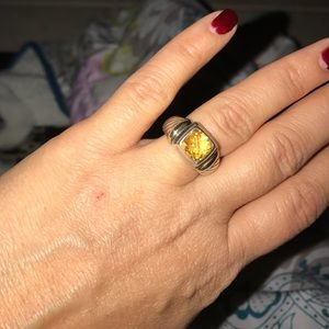 David Yurman Jewelry - Authentic David Yurman Citrine ring size 6