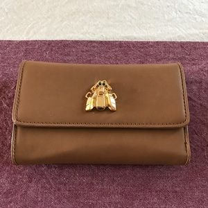 Love Moschino Handbags - Love Moschino Vegan Leather Bee Wallet