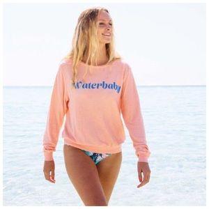 Wildfox® Waterbaby Baggy Beach Jumper [grapefruit]