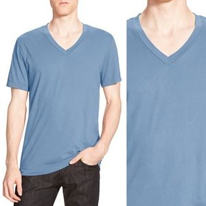James Perse Other - James Perse Men's Blue V-Neck Tee