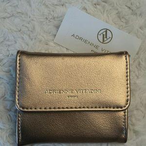 Adrienne Vittadini  Handbags - Adrienne Vittadini NWT Rose Gold Coin Purse
