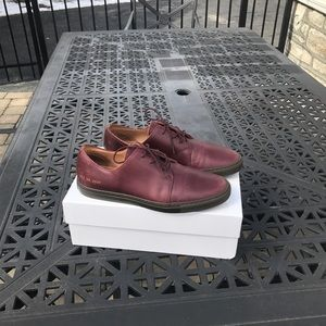 Common Projects Other - Common Projects Burgundy Derby shoes
